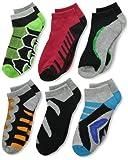 Jefferies Socks Big Boys Tech Sport Low Cut Socks 6 Pair Pack
