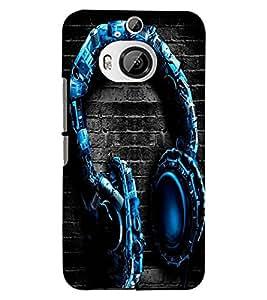 PRINTSWAG HEADPHONES Designer Back Cover Case for HTC ONE M9 PLUS