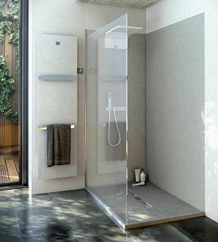 duschr ckwand ohne fugen 220x80 cm aus 7 mm mineralguss. Black Bedroom Furniture Sets. Home Design Ideas