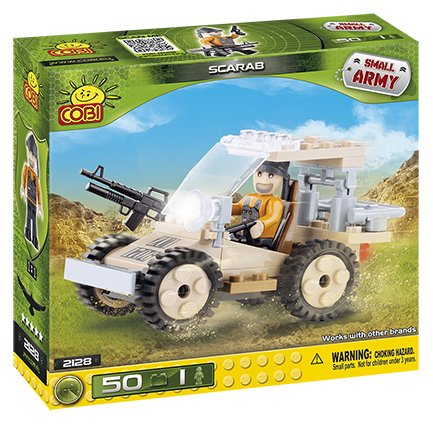COBI Small Army Scarab Construction Vehicle