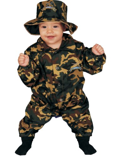 Military Officer Baby Bunting Costume