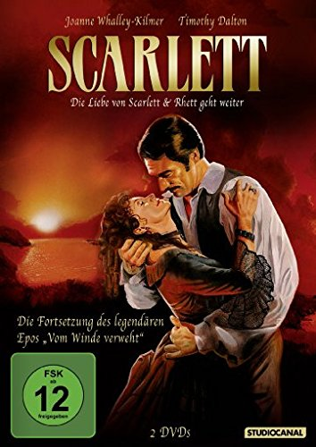 Scarlett - Die Liebe von Scarlett & Rhett geht weiter [2 DVDs]