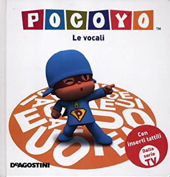 Cover Pocoyo. Le vocali