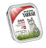 Yarrah Bröckchen Rind 100g Bio Katzenfutter