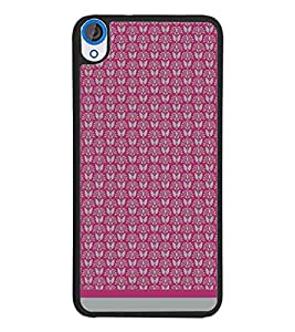 PrintDhaba Pattern D-1588 Back Case Cover for HTC DESIRE 820 (Multi-Coloured)