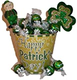 Happy St. Patrick's Day! Lindt Pot of Truffles Gift Basket-small