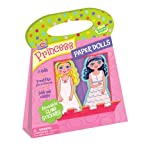 Peaceable Kingdom / Princess Paper Dolls Reusable Sticker Tote