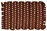Azaan Décor Chenille Door Mat - 27'' x 17'', Brown