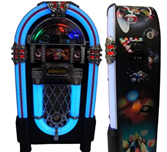Review and Buying Guide of Cheap Large Pool Jukebox Stereo CD Player AM FM Radio iPod Dock USB SD Remote - Limited Edition