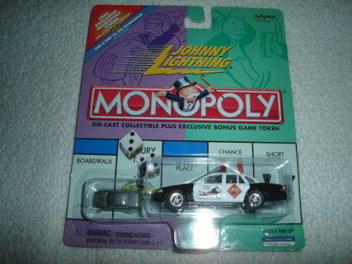 Johnny Lightning Monopoly Do Not Pass Go Crown Victoria - 1