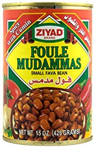 Ziyad Beans Fava Spicy 15-ounce Pack Of 6 by Ziyad