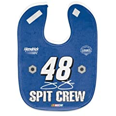Jimmie Johnson BABY BIB - FULL COLOR MESH by Nascar