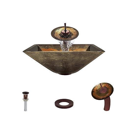 The MR Direct 638 Oil Rubbed Bronze Bathroom Ensemble