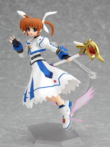 Magical Girl Lyrical Nanoha : Nanoha Takamachi The Movie 1st Ver. Figma Figure