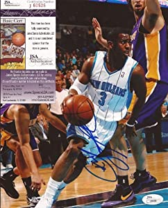 Chris Paul New Orleans Hornets Signed Autographed 8x10 Photo JSA COA #j60526 by Hollywood+Collectibles