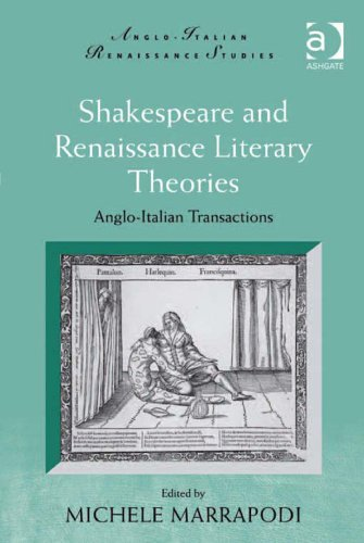 Michele Marrapodi - Shakespeare and Renaissance Literary Theories