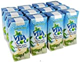 Cos15 Vitacoco 100% Pure Coconut Water of 11.1 Oz - 12 Packs