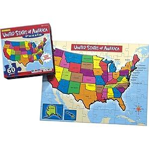 Tek Nek Encyclopedia Britannica Talking U.S. Puzzle   Toys Gem