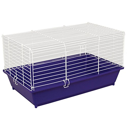 Ware Manufacturing Home Sweet Home Pet Cage for Small Animals – Colors may vary 51Dzrac1m4L