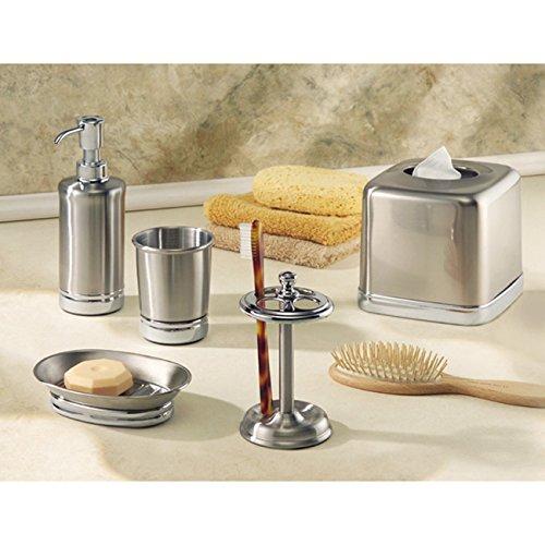 Interdesign york bath soap dish split finish home garden for Interdesign york