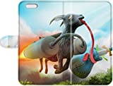 Star phone protective shell's Shop 2015 High Quality Goat Simulator Skin Leather Case Cover Specially Designed For iPhone 5/5s 6907309PA873692972I5S