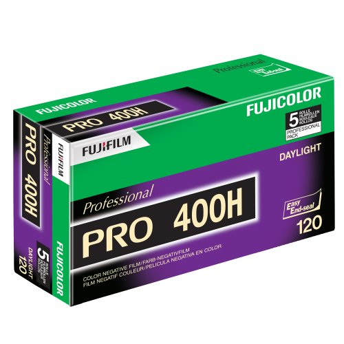 Fujifilm-16326119-Fujicolor-Pro-120-400H-Color-Negative-Film-ISO-400-5-Roll-Pro-Pack-GreenWhitePurple