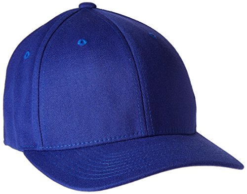 Flexfit 5001 6-Panel Structured Mid-Profile Cap - NAVY - S/M (Fitted Hats compare prices)