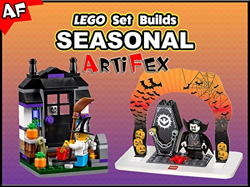 Clip: Lego Set Builds Seasonal - Season 1