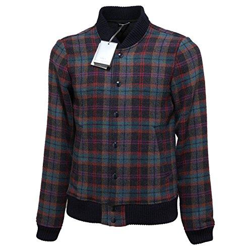 7497L giubbotto uomo blu DANIELE ALESSANDRINI sussy giacche jackets coats men [48]