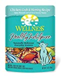 Wellness Healthy Indulgence Chicken, Crab & Herring Entree Cat Food Pouches