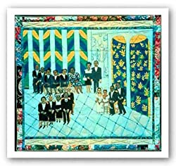 "Matisse's Chapel by Faith Ringgold 28.5""x22.5"" Art Print Poster"
