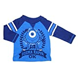 Disney Monsters Inc. Mike Wazowski Long Sleeve Baby Boys Tee T-Shirt Top