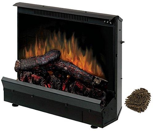 Dimplex DFI2310 Electric Fireplace Deluxe 23-inch Insert, Black (Complete Set) w/ Bonus: Premium Microfiber Cleaner Bundle (23inch Electric Fireplace Insert compare prices)