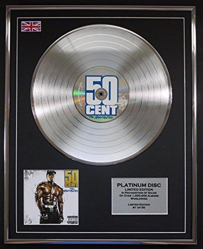 50 CENT/LTD Edizione CD platinum disc/THE MASSACRE