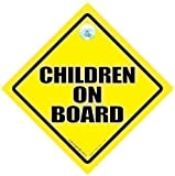 Children On Board Car Sign Baby on Board Sign Children On Board Sign Yellow Baby On Board Baby on Board Sign Car Sign Novelty Car Sign Bumper Sticker Decal Baby Sign Baby Car Sign