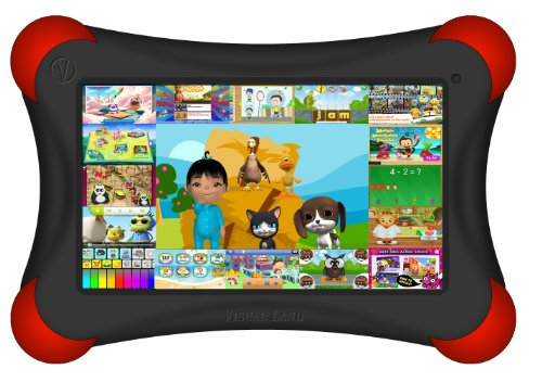 Visual Land Prestige Pro Famtab 8Gb 1.6Ghz Dual Core With Google Play And Safety Bumper (Black) front-293672