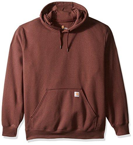 Carhartt Men's Big & Tall Rain Defender Paxton Heavy Weight Hooded Sweatshirt, Dark Cedar, 2X-Large/Tall (Insulated Carhartt Hoodie compare prices)