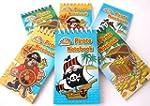 12 Pirate Mini Spiral Notebooks for C...