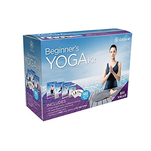 Read About Gaiam Yoga Beginner's DVD Kit