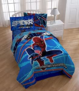 Marvel Amazing Spider-Man Stick With Me Twin Bedding Set