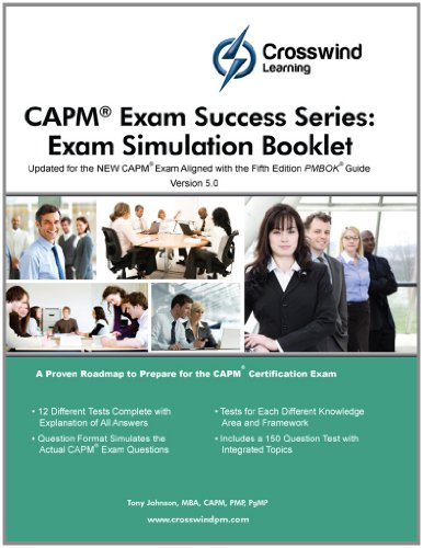 Capm Exam Success Series: Exam Simulation Booklet front-886418