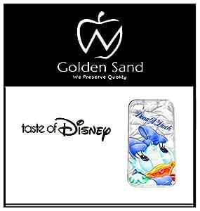 Golden Sand Donald Daisy Disney Series Diamond TPU Cover for Apple iPhone 4/4S.