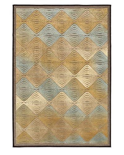 """Braque Rug, Light Blue/Light Brown, 5' 3"""" x 7' 7"""""""