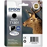 Epson Genuine T1301 Black Ink Cartridge - Epson T1301 black ink cartridge (Stag