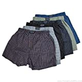 Mens Plaid Boxers (12 pack)