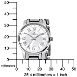 AK Anne Klein Women's 109335SVSV Silver-Tone Bracelet Watch