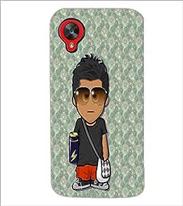 PrintDhaba Cartoon D-3224 Back Case Cover for LG GOOGLE NEXUS 5 (Multi-Coloured)