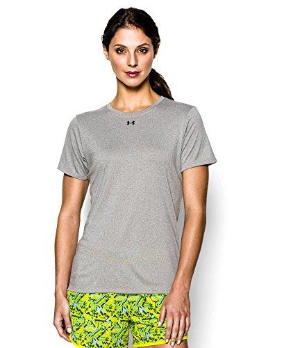 Under Armour Women's UA Locker T-Shirt Large True Gray Heather