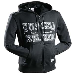 Sweatshirt Hooded Sweater Hoodie von RUSSELL ATHLETIC Farbe Schwarz , L