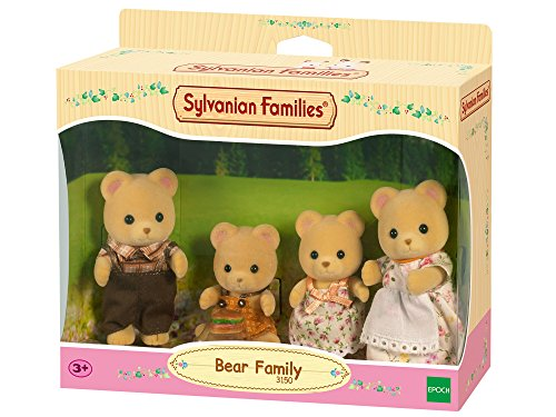 Sylvanian Families - Familia osos pardos (Epoch 3150)